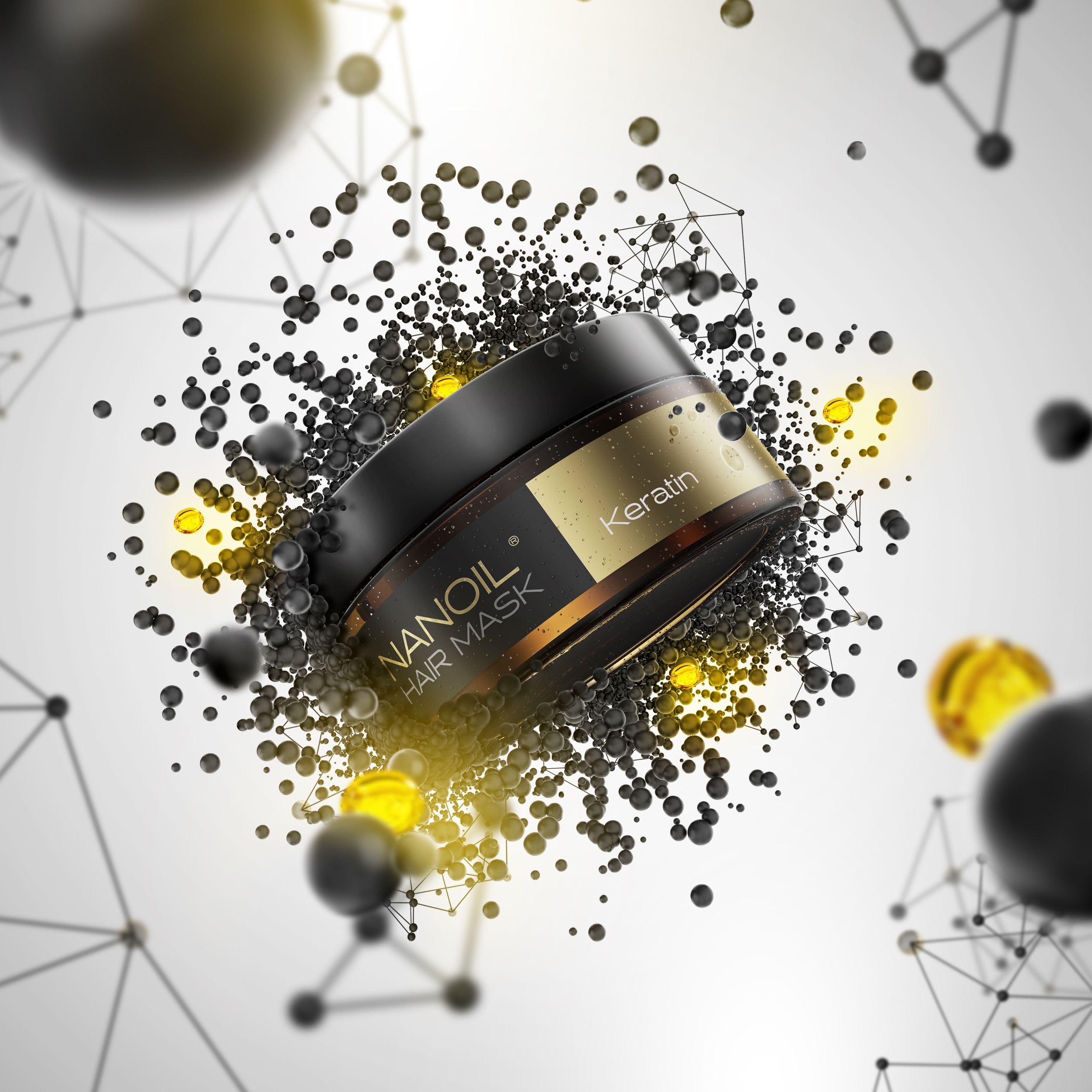 Nanoil - the best Hair Mask with Keratin